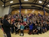 The students at Mukwonago High School were awesome!